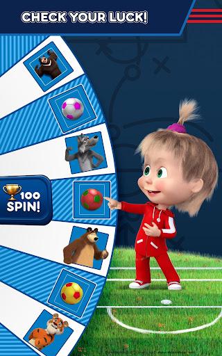 Masha and the Bear: Football Games for kids Apkfinish screenshots 20
