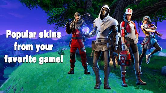 New Battle Royale Skins for FBR