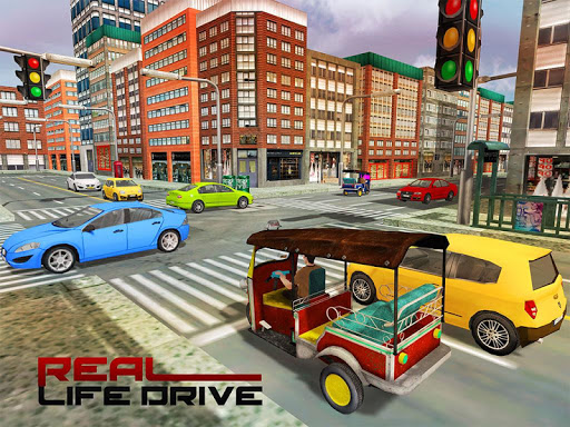 Tourist Transport Taxi: Tuk Tuk Driving Simulator  screenshots 9