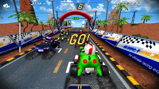 Monkey Racing Free 1.0 screenshots 3