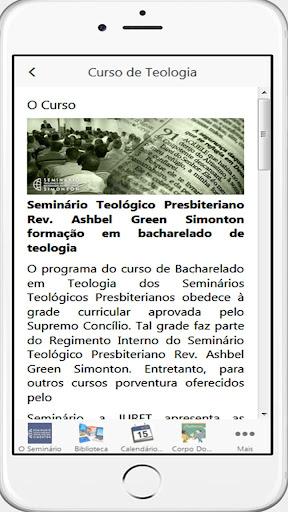 Seminu00e1rio Presbiteriano Simonton  Screenshots 4