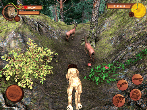 Wild Lion Simulator - Animal Family Survival Game  screenshots 5