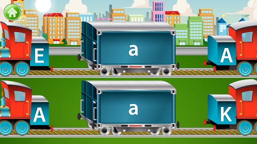 Learn Letter Names and Sounds with ABC Trains android2mod screenshots 6
