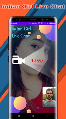 Indian Girl Live Video Chat - Random Video Chatのおすすめ画像2