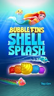 Bubble Fins - Shell Splash