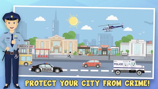Police Inc Mod Apk: Tycoon police station builder (Unlimited Money) 3