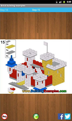 Brick building examples apkmr screenshots 3