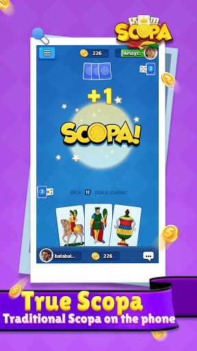 Scopa(Free,No Ads): Italian Card Game  screenshots 5