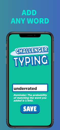 Challenger Typing Practice - Typing Speed Test Screenshots 3