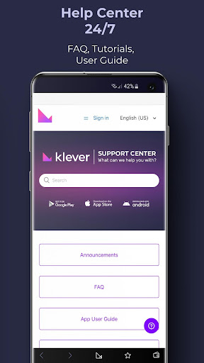Klever Wallet: Buy Bitcoin, Ethereum, Tron, Crypto  Screenshots 6