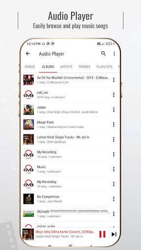 Mstudio: Cut, Join, Mix, Convert, Video to Audio screen 1