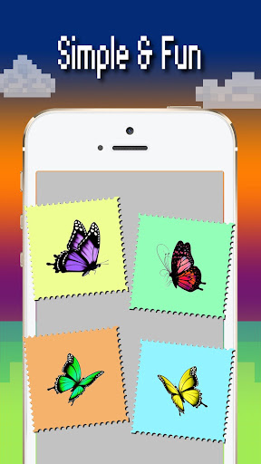 Butterfly color by number : Bugs coloring book 1.4 screenshots 5