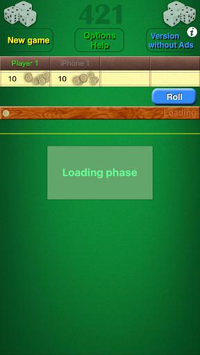 Dice Game 421 Free 1.8 screenshots 3