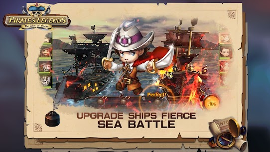 Pirates Legends-The War of Ocean Mod Apk (Stats Equip x20) 3