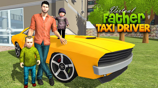 Virtual Single Dad Taxi Driver Sim 1.1 screenshots 6