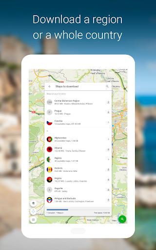 Mapy.cz - Cycling & Hiking offline maps 7.6.1 Screenshots 18