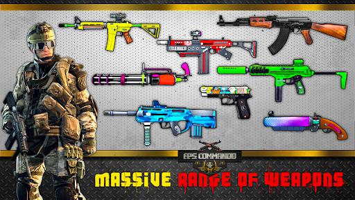 FPS Rencontrer Frapper - Hors ligne Tournage Jeux APK MOD (Astuce) screenshots 4