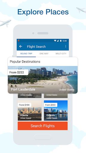 CheapOair: Cheap Flights, Cheap Hotels Booking App 3.20.18 Screenshots 5