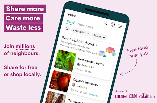 OLIO - Share more. Care more. Waste less.  screenshots 1