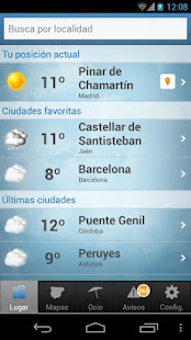 Tiempo y Temperatura 1.2.4 Screenshots 1