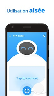 VPN Robot -Free Unlimited VPN Proxy &WiFi Security Capture d'écran
