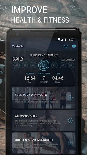 Home Workout - Fitness & Bodybuilding 1.2.6 Screenshots 1