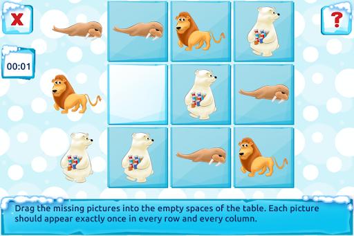 Polar Bear Cub - Fairy Tale with Games Free android2mod screenshots 7