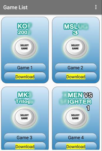 Arcade games : King of emulators 12.4 Screenshots 4