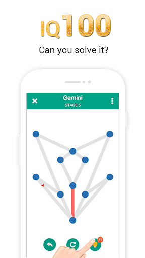 1 Line - One Touch Brain Game modavailable screenshots 3