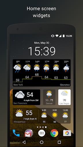 Gismeteo 1.1.10 Screenshots 5