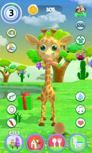 Talking Giraffe 1.54 screenshots 4