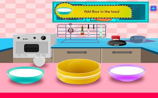 cooking strawberry cake screenshot 2