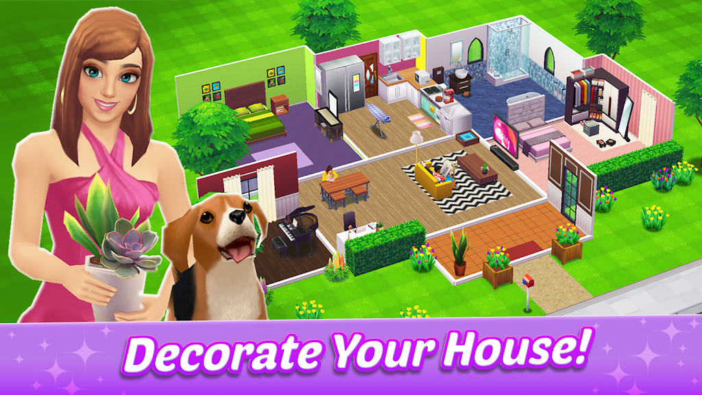Home Street – Home Design Game poster 0