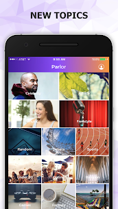 Parlor Social Talking App , Parlor Social Talking Reviews New Version , New 2021* 4