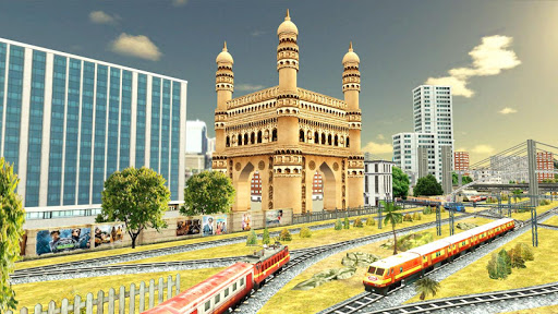 Indian Train Games 2019 Apkfinish screenshots 3
