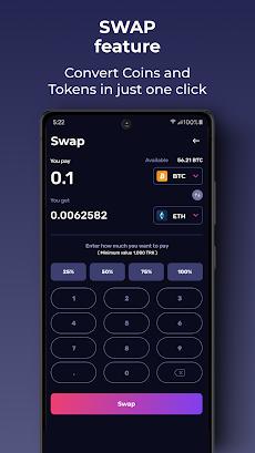 Klever Wallet: Buy Bitcoin, Ethereum, Tron, Cryptoのおすすめ画像4