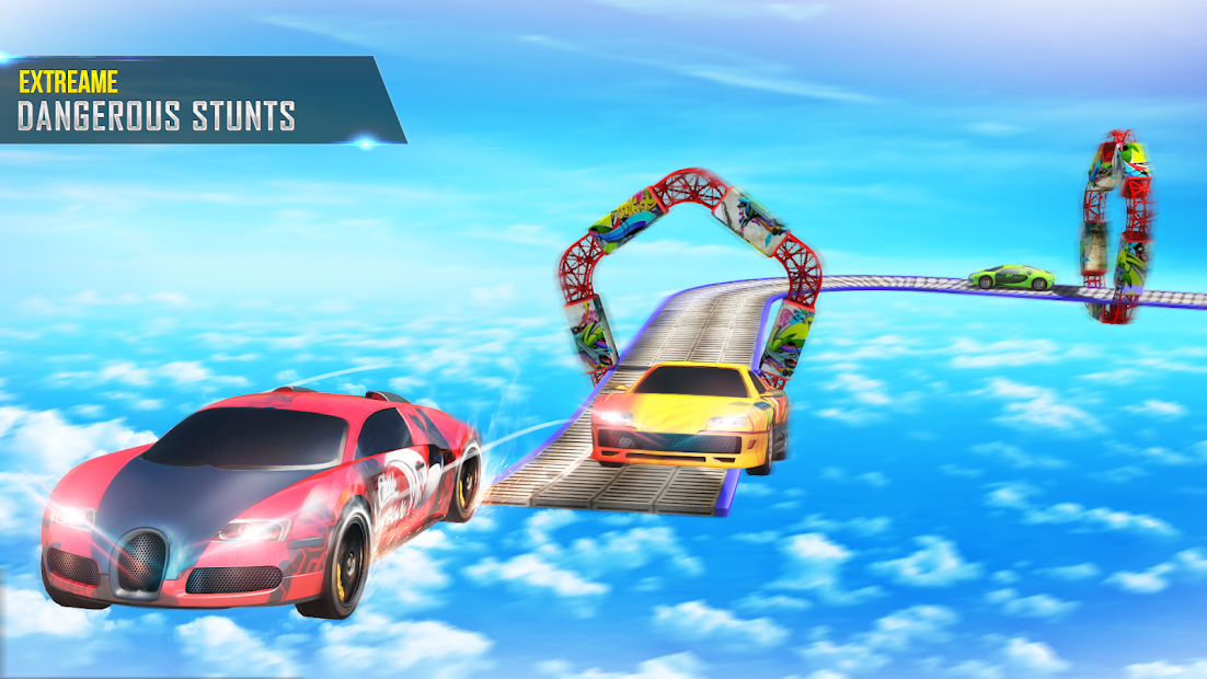 Mega Ramp Car Stunts Racing 2 screenshot 3