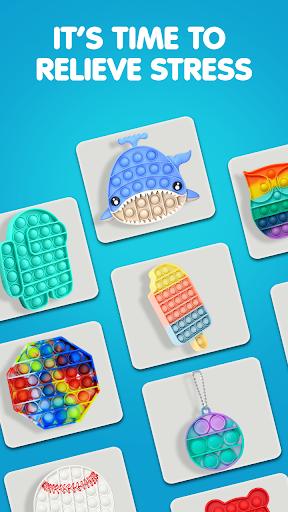 Pop It Sensory Fidget cube toys 3d Anxiety Relief  screenshots 6