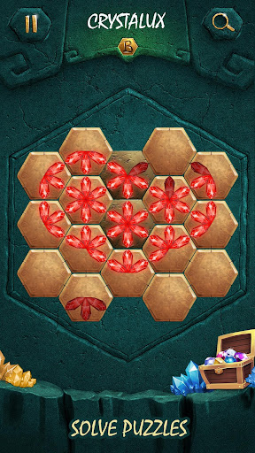 Crystalux. New Discovery - logic puzzle game  screenshots 6