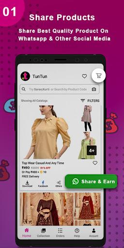 TunTun - Resell, Work From Home, Earn Money Online apktram screenshots 3