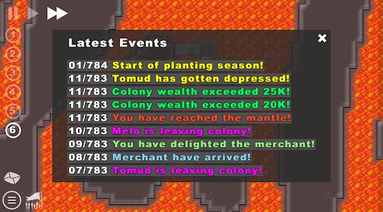 Going Deeper! – Colony Building Sim MOD APK 0.3.12cd (Paid Unlocked) 8
