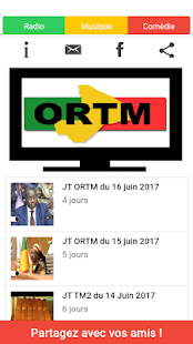 ORTM Mali TV Screenshot