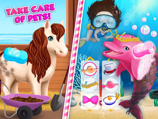 Sweet Baby Girl Summer Fun 2 - Sunny Makeover Game Apkfinish screenshots 24