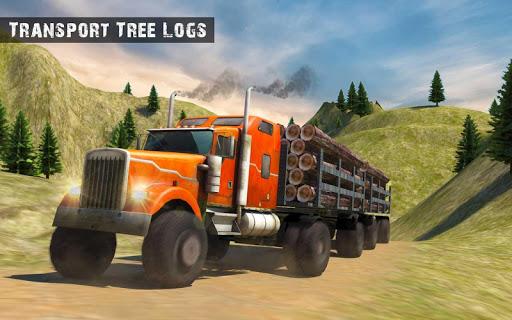 USA Truck Driving School: Off-road Transport Games  screenshots 13