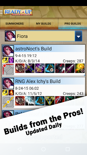 Ready Up for League of Legends - Builds & Stats 3.0.2 screenshots 1