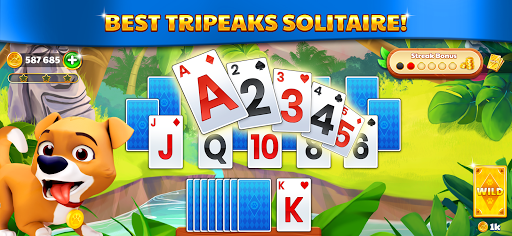 Solitaire Tripeaks: Adventure Journey 1.5.1 screenshots 5