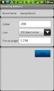 Reloading Ballistics Lite  For Pc (Free Download On Windows 10, 8, 7) 2