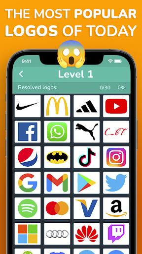 MEGA LOGO GAME 2021: Logo quiz - Guess the logo 1.3 screenshots 2