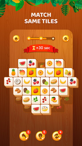 Tile Crush - Tiles Matching Game : Mahjong puzzles 2.0 screenshots 1