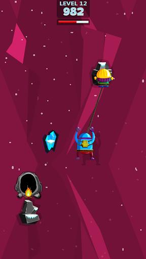 moe&joe - rope and swing game screenshot 3